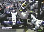 【F1GP動画】中嶋一貴ブラジルGPでピットクルーを轢いてしまう