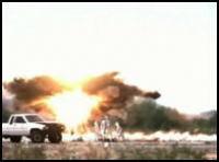 GPS誘導155mm砲弾XM982 Excaliburのスローモーション映像