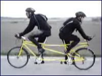 仲が悪すぎる自転車