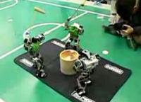 二足歩行ロボットの餅つき大会【KHR-2HV】-