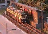 完成度の高い鉄道ジオラマ!江ノ電-鉄道模型