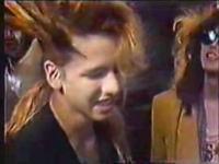 X JAPAN 売れない時代の貴重な映像 元気が出るテレビ