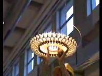 自由に大きさを変えられるとっても素敵な照明器具