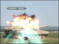 対戦車ミサイルの発射実験映像