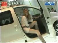 海外のセクシーなお姉さんたち パリ国際モーターショー2008