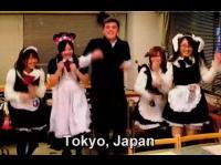 世界中でダンスをする2008 日本は何故かメイド喫茶w