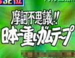 摩訶不思議!日本一重いガムテープ