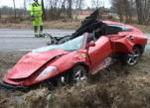 Ferrari 360 Spider 衝撃の事故処理映像